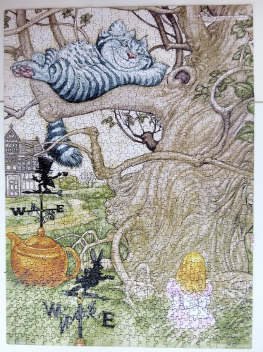 Alice in Wonderland by Angel Dominguez, 1000 (JP026).JPG