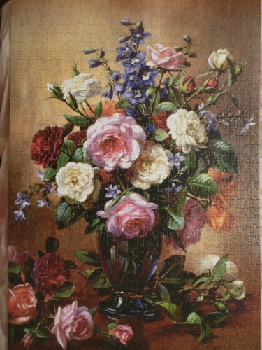 Copy of Roses in a Blue Vase Albert Williams 1000 С-102617_small.jpg
